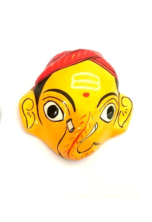 Ganapati Cheriyal Masks Pair