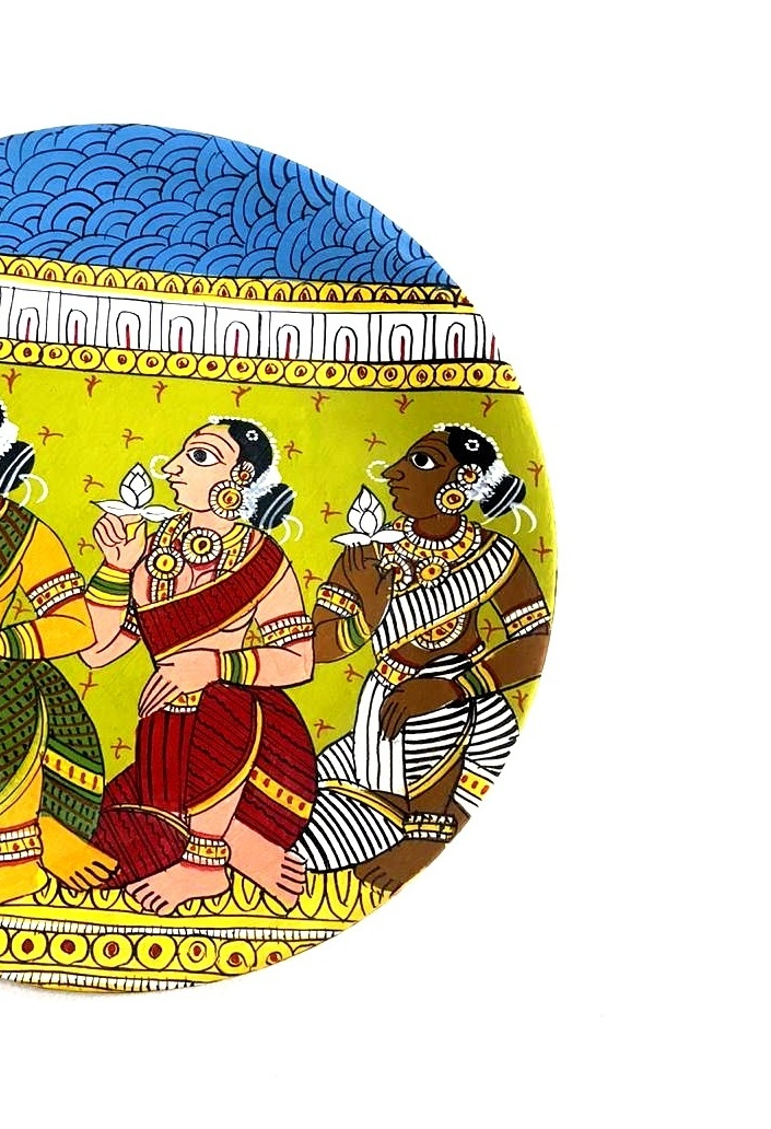 Queens in Cheriyal Painting