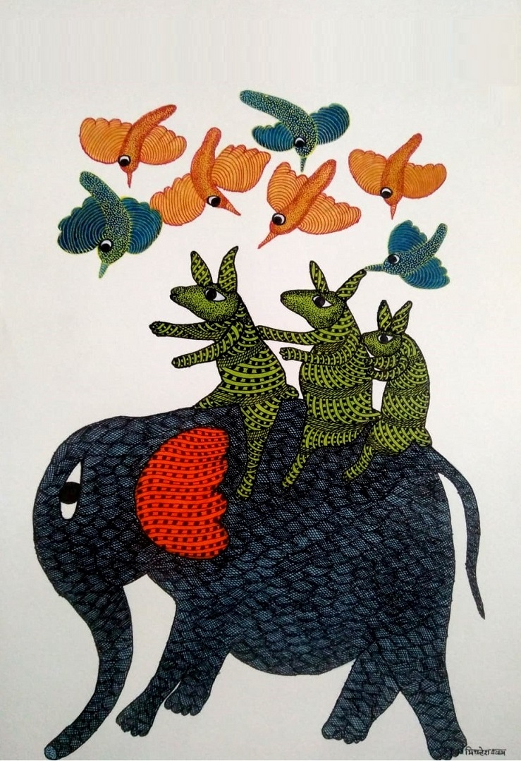 Elephant Ride Gond