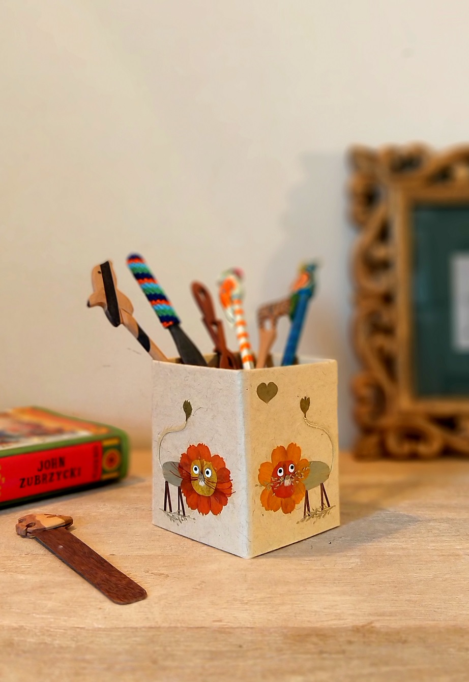 Hungry Lion Pencil Holder