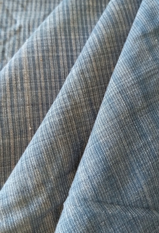 Blue Pure Handwoven Cotton