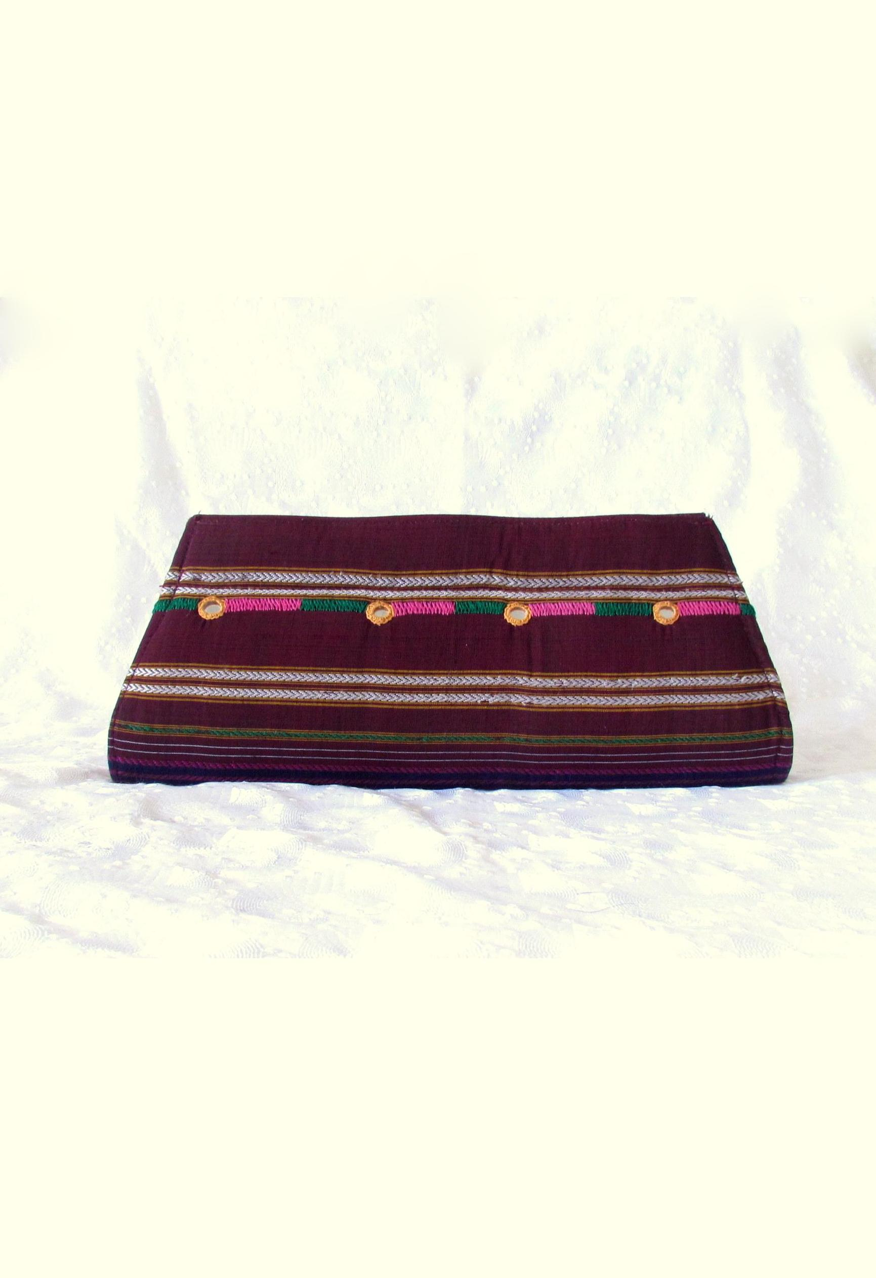 Banjara Embroidery and Mirror Work Clutch