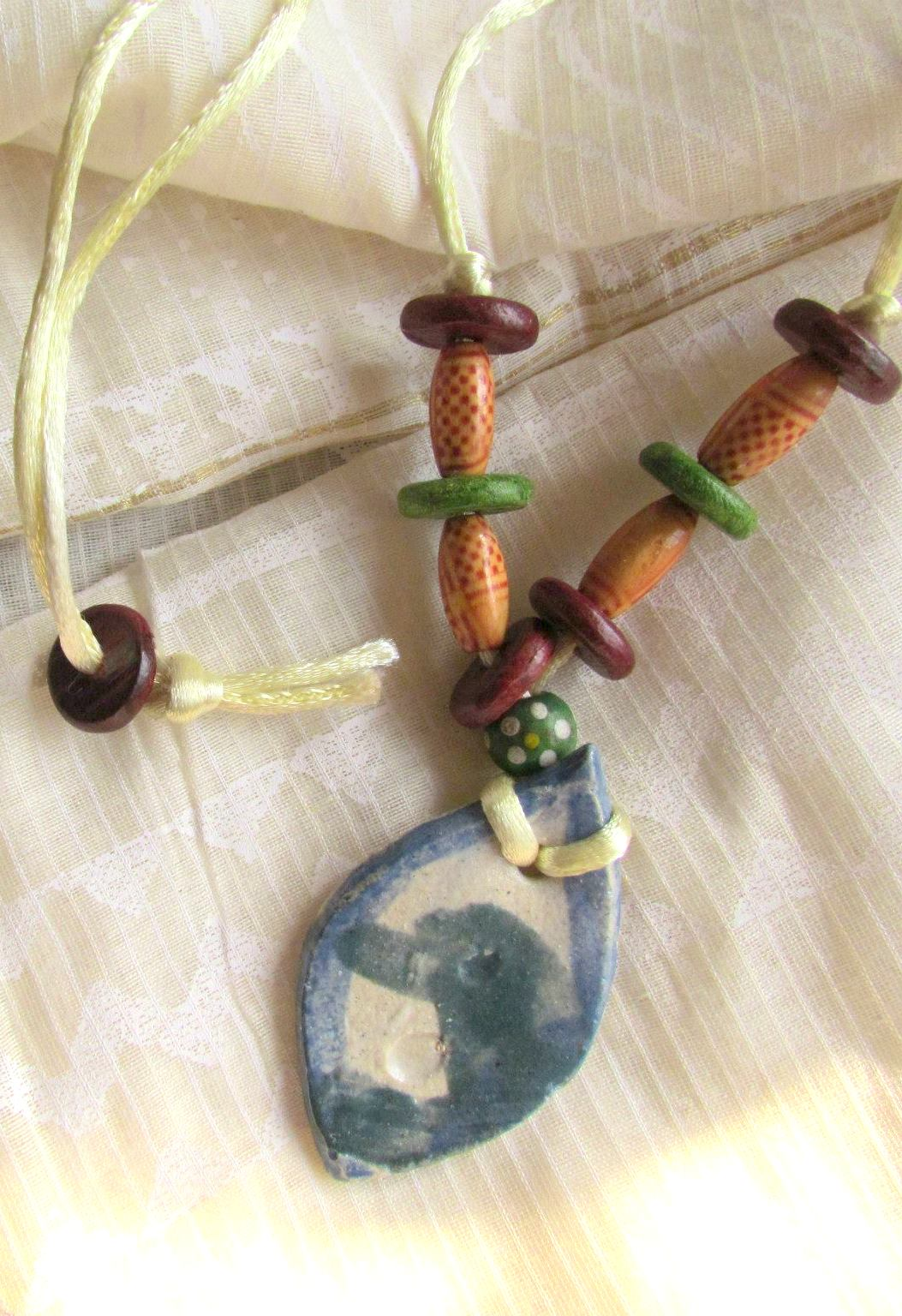 Little Fish Ceramic Neckpiece