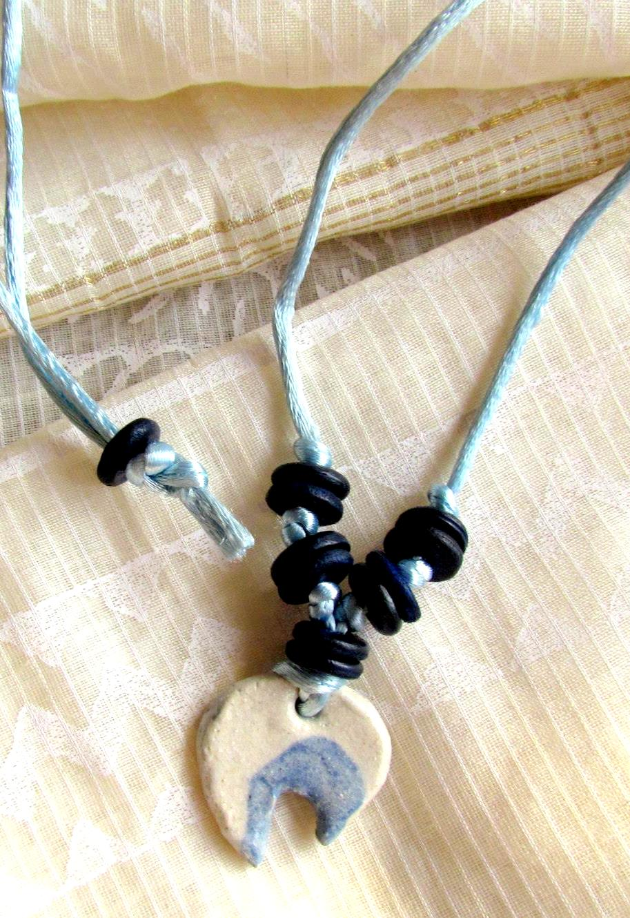 Eclipse Ceramic Neckpiece