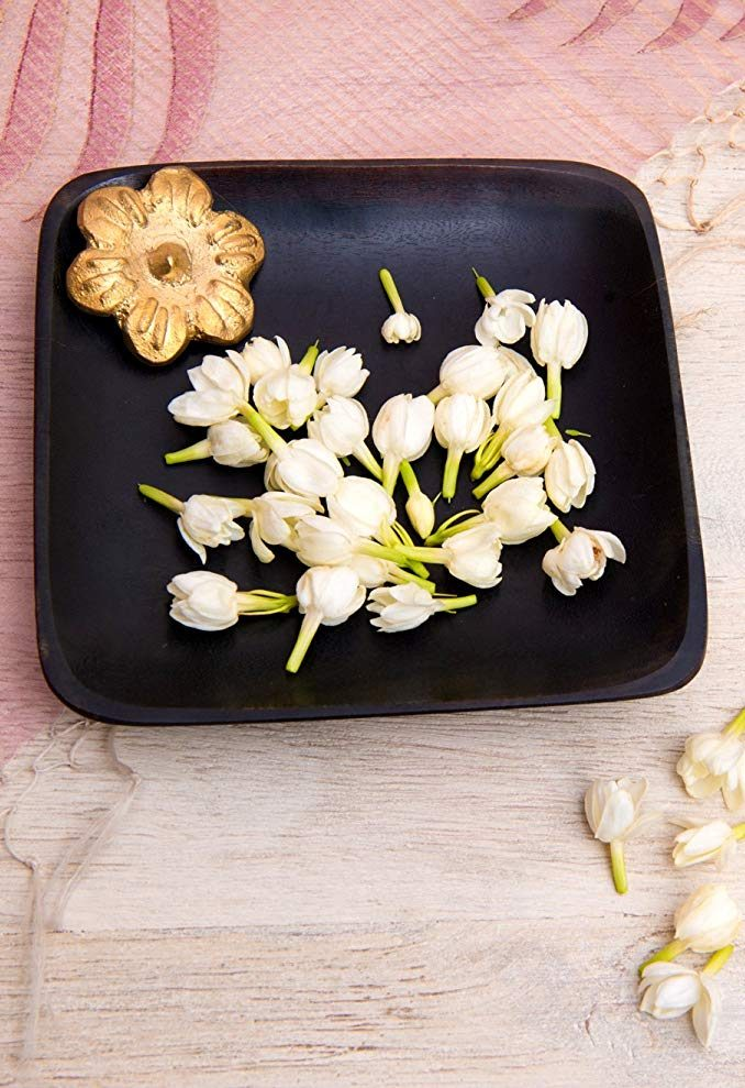 Dhokra Flower Plate
