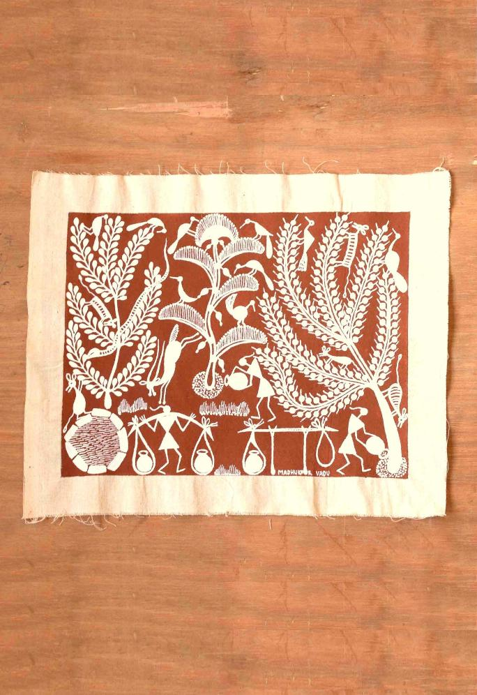 Nurturing Nature Warli Art