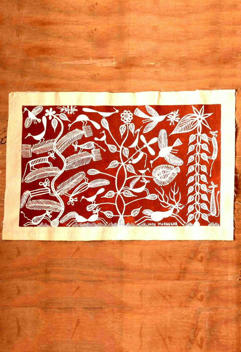 Jungle Love Warli Art