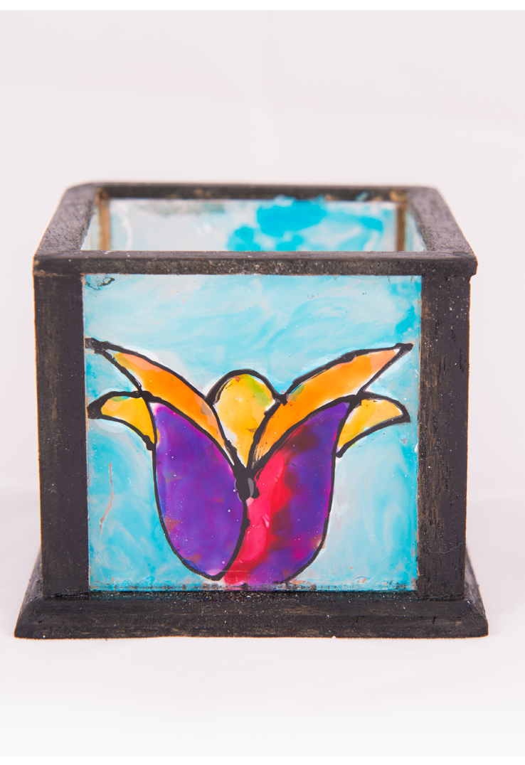 Tulip Tealight Holder - set of 2