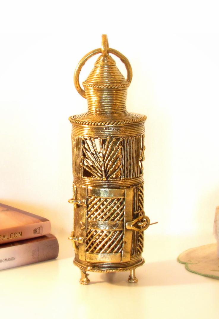 Dokra Tribal Dance Round Lantern